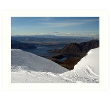 View from Trebble Cone Art Print
