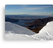 View from Trebble Cone Canvas Print
