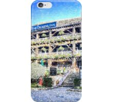 The Dickens Inn Pub London Art iPhone Case/Skin