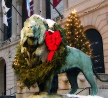 CHRISTMAS LION by mlynnd