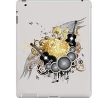 Abstract party design 7 iPad Case/Skin
