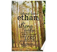 Ethan strong Poster