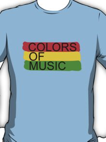 colors of music T-Shirt