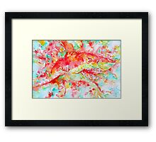 A SUDDEN TURN CAN COME,A ROAD APPEAR Framed Print