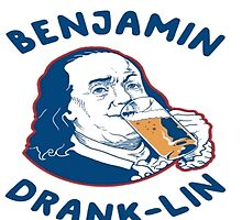 Benjamin Drank-Lin by TeesUnited