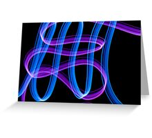 abstract light 6 Greeting Card