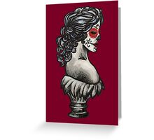 Sugar Skull Sweetheart Greeting Card
