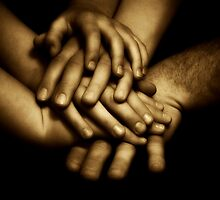 Family Hands by Michelle Danker