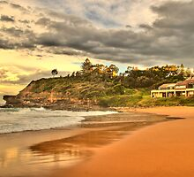 Before The Storm - Warriewood Beach - The Sydney HDR Series by Philip Johnson