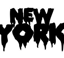 New York (Black) by LouisCera