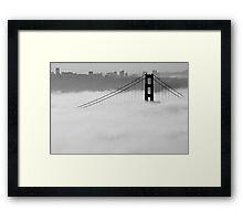 Rising Above the Fog Framed Print