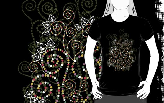 Ethnic Dreams T-shirt by fatfatin