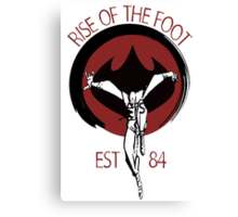 Rise Of The Foot Canvas Print