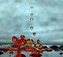 Giraffe Splash by funkyfacestudio