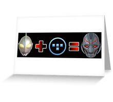 Ultron Addition Greeting Card