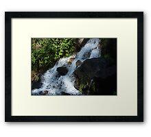 River Rapids in Peguche Framed Print