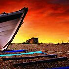 Sizewell Beach Suffolk Panoramas. by Wayne Bradshaw