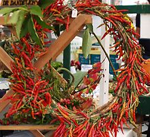 Pepper Wreath by Jack McCallum