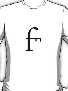 Typeface combination design #2 T-Shirt
