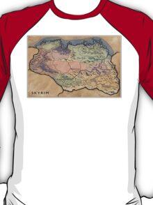 Map Skyrim T-Shirt