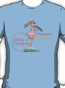 Shigatsu wa kimi no uso - Kaori Miyazono T-Shirt