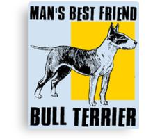 BULL TERRIER-2 Canvas Print