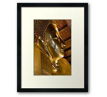 A glimpse of buddhism Framed Print