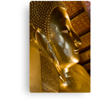 A glimpse of buddhism Canvas Print