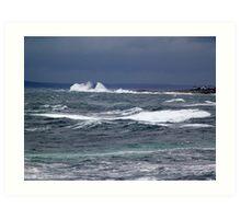 The Sea Shall Not Reach Them Art Print