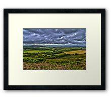Northumberland Fields Framed Print