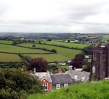 "UK: ""Launceston Church View"", Cornwall by Kelly Sutherland"