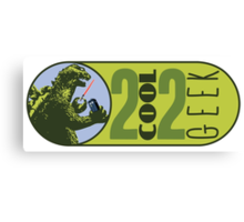 The OFFICIAL 2 COOL 2 GEEK Logo Canvas Print