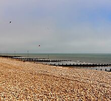 """UK: """"Kites at the Beach"""", West Sussex by Kelly Sutherland"""