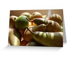 Fruitful Harvest Greeting Card