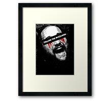 Follow The Buzzards - Bray Wyatt Framed Print