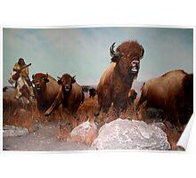 The Buffalo Hunt ... Poster
