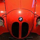 Red BMW by Maistora