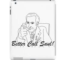better call saul goodman iPad Case/Skin