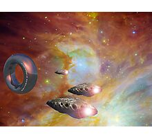New Earth Station and Squadron 5 Photographic Print