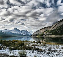 Vermillion Lakes Drive by Vickie Emms
