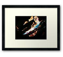 Open Fire!!! Framed Print