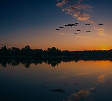 Warbird Reflections  by J Biggadike