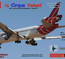 le Cirque Volant November 2008 Vol 2 Issue 5 Cover by Paul Lindenberg