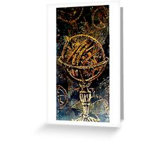 Armillary Sphere Greeting Card