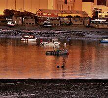 fishing boats  by davidautef