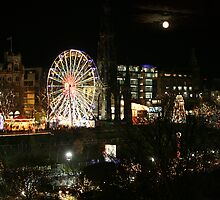 Edinburgh at Christmas and New Year by Linda More