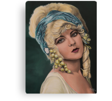 Ziegfeld girl Marion Benda Canvas Print