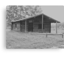 Old Ranger's Cabin  Canvas Print