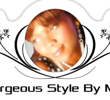 Be Gorgeous Styles By Mimmie Sticker
