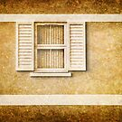 White shutters by Dave Hare